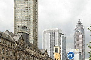 Towersammlung in FFM: Tower 185, Messetrum