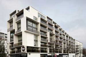 """Die """"Paragon Apartments"""" an der Danziger Straße"""