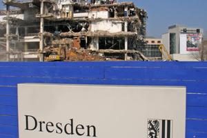 Eine Stadt baut sich um: Dresden 2007ff