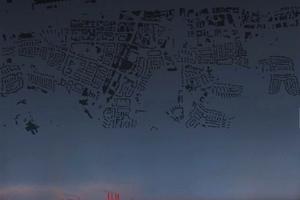 Abendhimmel über Wolfsburg