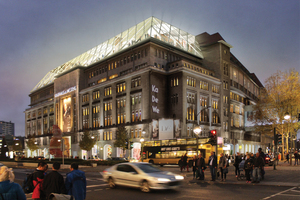 Kaufhaus des Westens KaDeWe nach dem Umbau