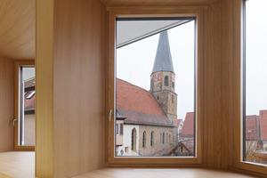 Fensterausblick aus dem Sitzungssaal<br />