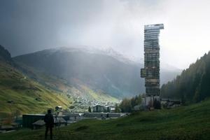 Es ginge auch anders: hier noch Bilder des Entwurfes von Jensen & Skodvin, Oslo, die mit acht anderen Architekten in der ersten Runde waren. Und rausgeflogen sind