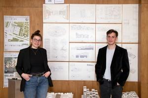 """2.Platz: """"moduland"""" von Marienne Wissmann und Tobias Puhlmann, TU Braunschweig"""