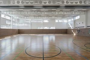 Sporthalle und Ökotherapie