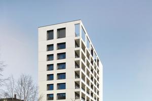 Finalist  Generalsanierung und Aufstockung Wohnhochhaus, Pforzheim  Freivogel Mayer Architekten