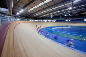 Nach den olympischen Sommerspielen und den Paralympics wird das Velodrome von Amateurradfahrern weiter genutzt<br />