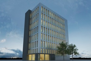 Holzhybrid Hochhaus: Life Cycle Tower LCT One von Hermann Kaufmann / Cree<br />