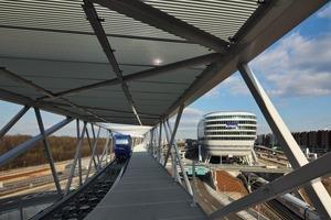 Der Skylink ist weltweit die erste Brücke, die parametrisch generiert und optimiert wurde<br />
