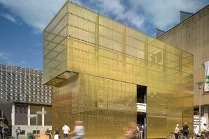 Infopavillon switch+, Münster - modulorbeat, Münster (Preisträger 2007)