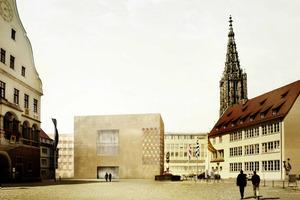 Ansicht auf die Südfassade, ksg architekten