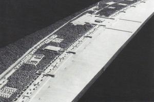 Das Modell von Prora des Architekten Clemens Klotz, 1936
