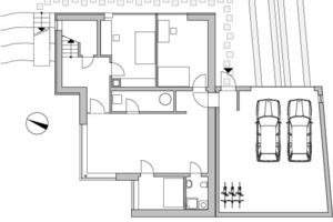 Untergeschoss, M 1:250