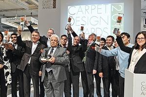 Carpet Design Award 2012 auf der Domotex<br />