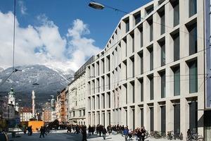 Kaufhaus Tyrol, Ansicht Maria-Theresien-Straße, Innsbruck<br />