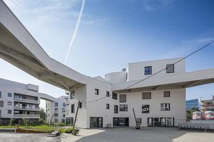 Die genossenschaftliche Anlage wagnisART mit 138 Wohnungen gehört zu den spannendsten Passivhaus-Projekten in München (lesen Sie einen ausführlichen Bericht in DBZ 4/2018)