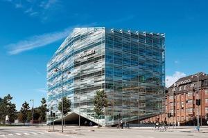 Laut Peter Voldstedl, Projektleiter bei SHL Architects, folgt ein Kristall keinem vordefinierten Aufbau und kann deshalb in jeglicher Art geformt werden<br />