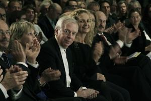 Preisträger Deutscher Architekturpreis 2011: David Chipperfield, hier auf der Verleihungszeremonie in Dresden