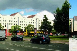 Wohnanlage Lützowplatz, Berlin. Teilabrisse als Teil eines ganzen Verschwindens