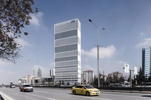 Bürohochhaus von HPP im asiatischen Teil Istanbuls