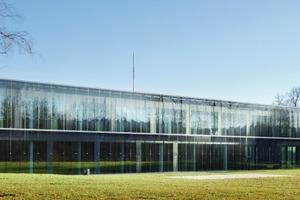 Konferenzzentrum im Schlosspark von Brdo, 2007<br />