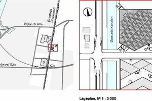 Übersichtsplan / Lageplan, M 1:3000