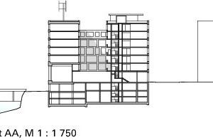 Schnitt, M 1:1750