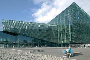 Harpa-Konzerthalle und Konferenzzentrum, Reykjavík, Henning Larsen Architects, Kopenhagen Dänemark, 2007–2011
