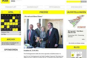 Vier OberbürgermeisterInnen reichen sich die Hand zum architektonischen Sommerfest