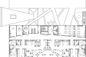 Obergeschoss, M 1:500<br />
