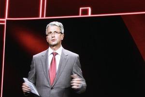 Visionär und Adam Riese: Rupert Stadler virtuell