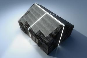 "<div class=""10.6 Bildunterschrift"">Der Solarhaus-Prototyp von Living Equia (Living Ecologic Quality and Integration of Ambience) </div>"