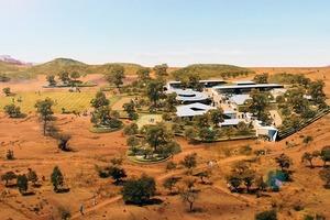 Gewinnerprojekt von Francis Kéré: Secondary school with passive ventilation system, Gando, Burkina Faso (Global Holcim Awards Gold 2012)