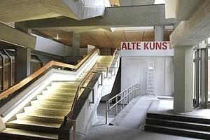 Im Untergeschoss mit dem Zugang zur Designabteilung