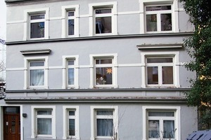 Stair Case Study House 01<br />liegt in einem Hinterhof im Hamburger Stadtteil Eimsbüttel/Hoheluft-West<br />