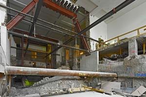 Baustelle im Altbau des Städels<br /><br />