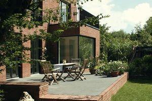 """3. Platz Gesamtsieger, Sieger Kategorie """"Einfamilienhaus/Doppelhaushälfte"""": Haus im Geistviertel (2007), Architekten: hehnpohl architektur, Münster"""