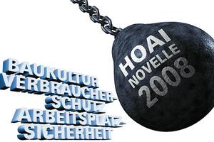 Plakatmotiv zum HOAI-Protest 2008