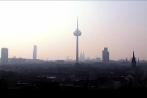 Sonnenauf- oder Untergang über Köln?!