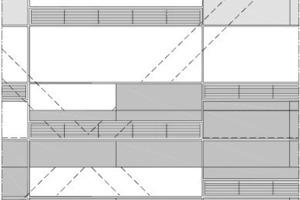 Ansicht Fassade, M 1:75<br />