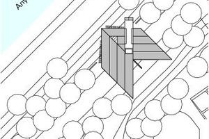 Lageplan, M 1 : 1000