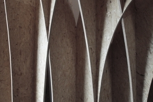Gotisches Kreuzgewölbe? Oder OSB-Plattenkunst?