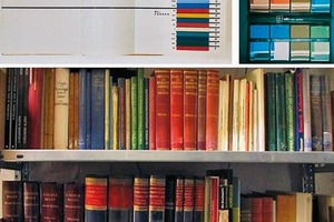 """Aus den Beständen der Sammlung """"Historische künstlerische Materialien"""" am CICS"""