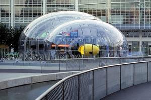 Bubble, IAA 1999, ABB, Bernhard Franken mit Bollinger und Grohmann