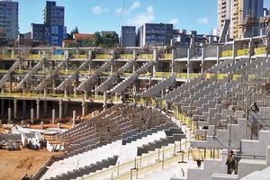 Das Stadion ist nach LEED zertifiziert. Reduktion des Wasserverbrauchs durch Regenwassernutzung; Wiederverwendung von Materialien; Optimierung des Energieverbrauches; Nachhaltige Organisation des Bauablaufs; Bewertung des Primärenergieverbrauches der einzelnen Materialien