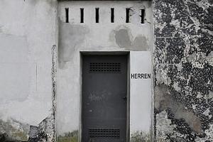 Hier, unterhalb der Führerkanzel, bekommt die WC-Inschrift eine ganz neue Bedeutung