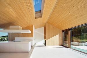 Das Haus in Farschweiler macht deutlich, dass Plusenergie auch lichte, helle Räume bedeuten kann