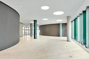 Die Architektur begünstigt Veränderungen und Nutzungsflexibilität<br />