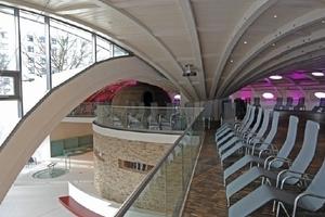 Dachkonstruktion des Saunaanbaus der Toskana-Therme, Bad Sulza - Planungsbüro Trabert+Partner, Greisa