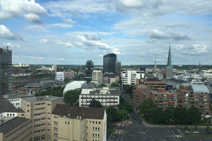 Blick von der Dachterrasse des Dortmunder U